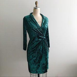 Catherine Malandrino 6 Delphine Dress Velvet